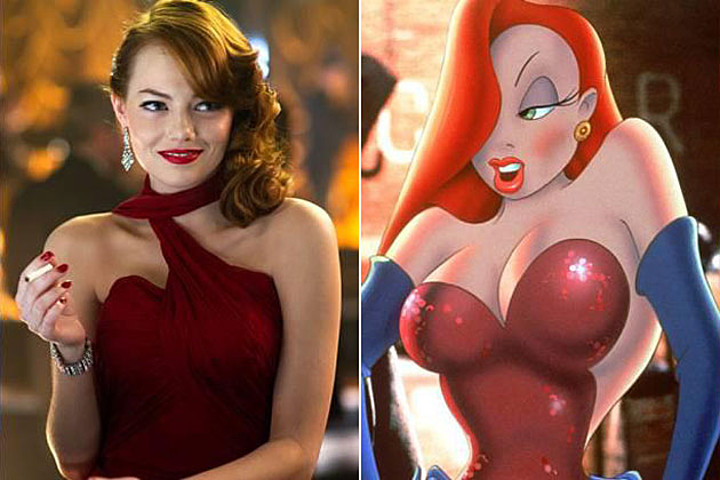 emma_stone_gangster_squad_jessica_rabbit_dead_ringers