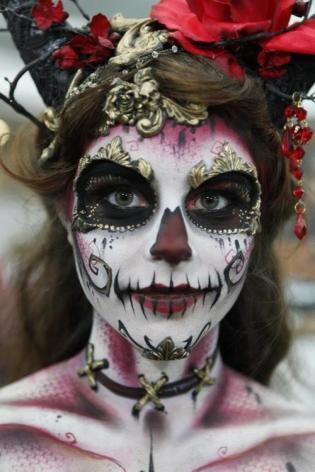 7 maquillages inspirés de la calavera mexicaine Catrina ...