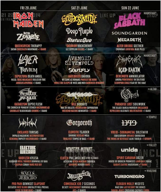 hellfest 2014 bill