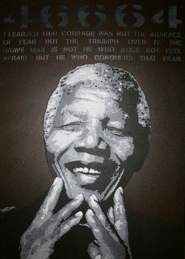 Nelson Mandela 102x71 1200€