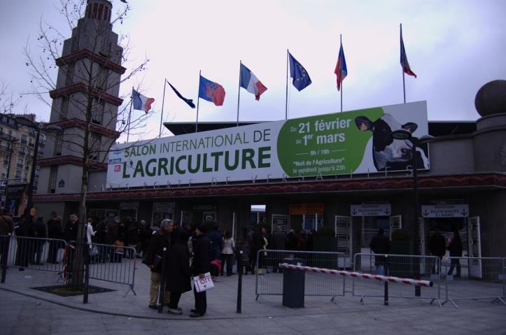 Salon_agriculture_2009_Affiche_entree_Parc_des_expositions